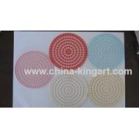China pvc coaster pvc mug pad pvc cup coaster wholesale