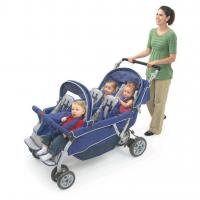 Quality Bye Bye Stroller - 6 Seat (Incl FREE Raincover), Six Child Pram, Buggy for 6 Children for sale