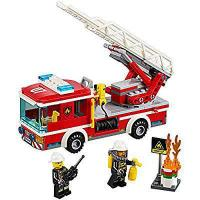 Quality LEGO City Fire Ladder Truck 60107 Cool Toy For Kids for sale