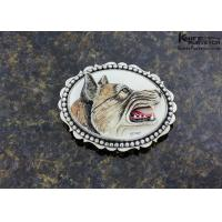 Ron Skaggs Wolf Belt Buckle