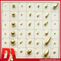 China Plastic Gold Craft beads For Decoration on sale