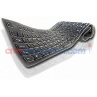 China New Washable Flexible Silicone Rubber Pc Keyboard on sale