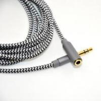 China Universal copper shell 3.5mm aux extension cable for car stereo wholesale