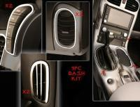 China Dash Trim Kit-Interior-Polished or Brushed-Stainless Steel-9 Pieces-05-13 wholesale