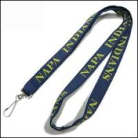 China Double Thick Popular Woven Logo Neck Strap wholesale