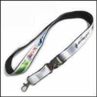 China Heat-transferred Satin Lanyard for Adverting Gift wholesale