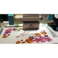 China Multi-Language Clothing Shirt Single Head Computerised Embroidery Machine on sale