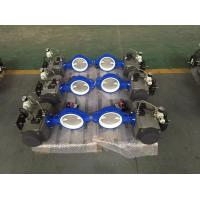 China Safe Double Acting Rotary Air Cylinder Actuator Ball Valve Set CE Approved on sale