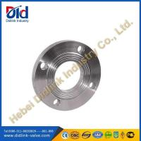 Buy cheap DIN carbon steel plate flanges, metric flanges suppliers, industrial pipe flanges from wholesalers