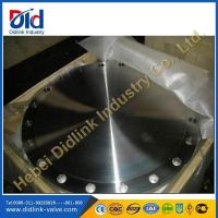 Buy cheap DIN 2527 blind flanges suppliers, forged carbon steel flanges, high pressure flanges types from wholesalers