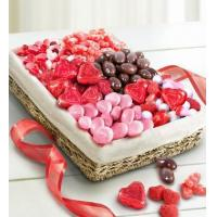 China Holidays Valentine Sweets Assortment Basket wholesale