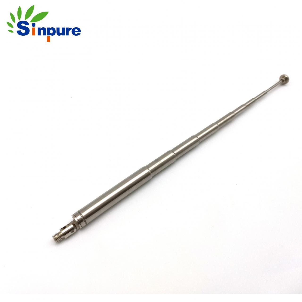 China China custom stainless steel 304 directional Helix antenna with thread wholesale