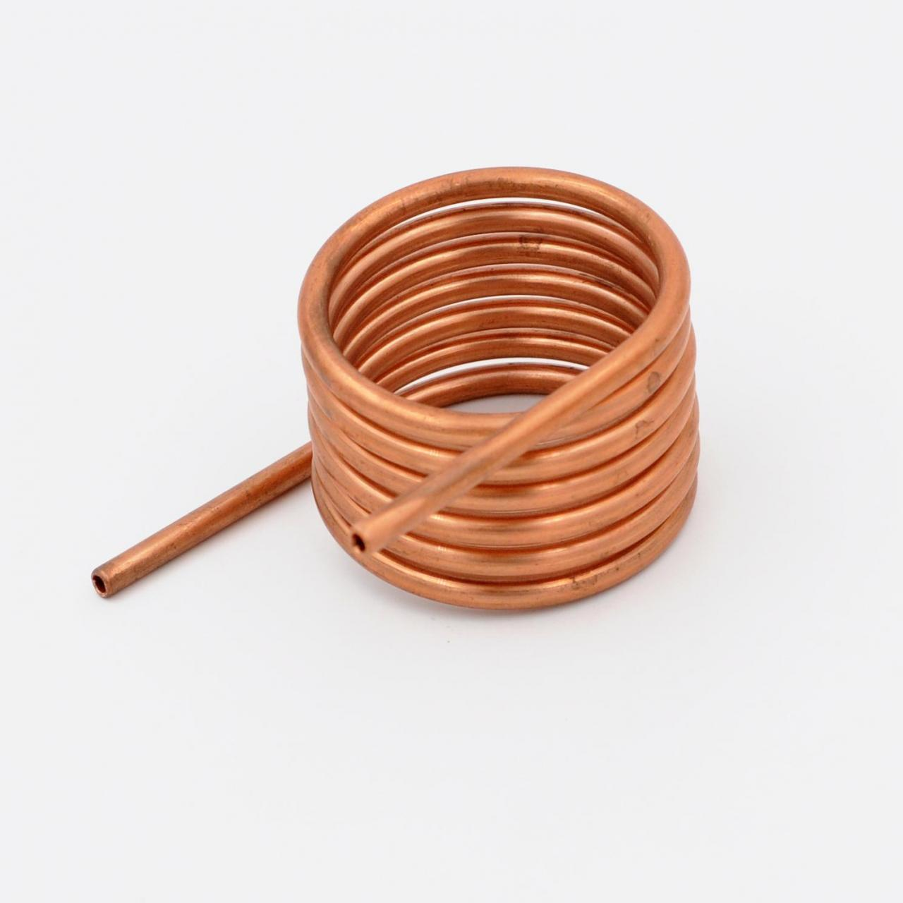 China Custom small diameter copper coil tube for heat exchange wholesale