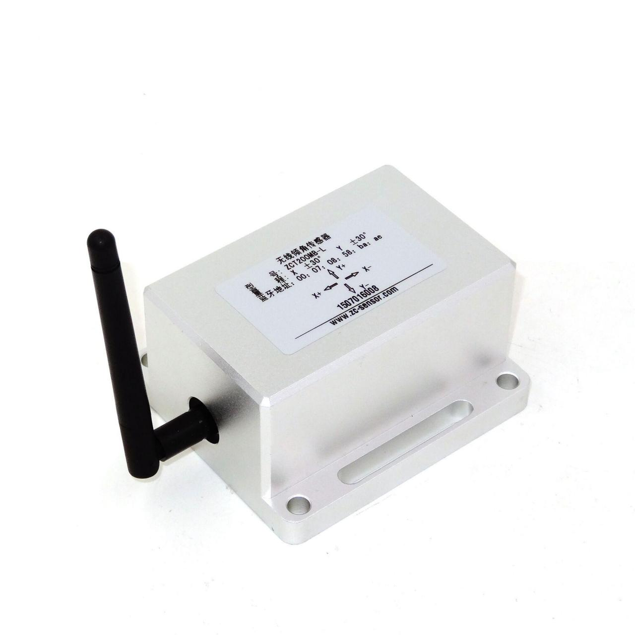 Wireless Inclinometer Dual Axis Wireless Tiltmeter ZCT200MB