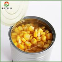 Buy cheap Organic Canned Sweet Corn in Brine from wholesalers