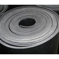 China Black CR Rubber Cloth Insertion Sheet wholesale