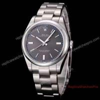 China New Rolex Oyster Perpetual SS Rhodium Dial 39mm Replica Watch on sale