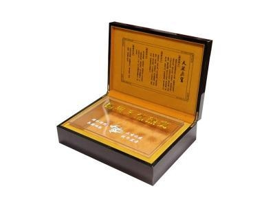 Quality Wooden Health Product Gift Box for sale