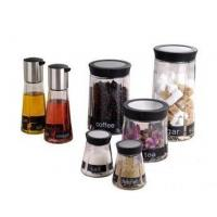 Buy cheap HY-ED printed glass Spice jar set from wholesalers
