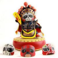China Chinese Art--Resin figurine with beijing opera masks on sale
