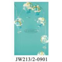 China Blue Sky Printed Tissue Paper Balloon Lanterns 13 X 22 Cm For For Baby Showers wholesale