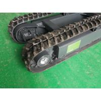 Carry capacity 1.5T mini rubber undercarriage chassis crawler
