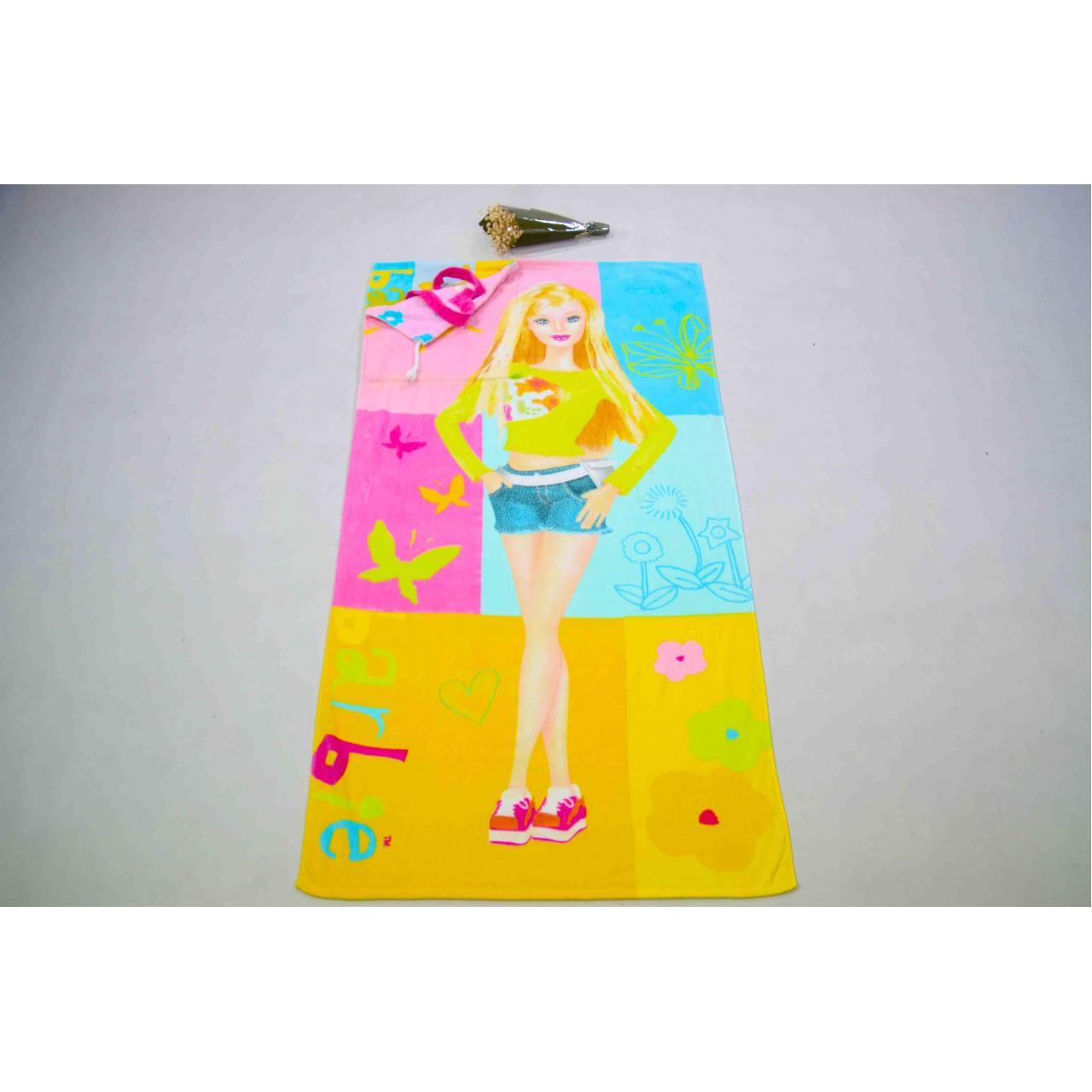 China 100% Cotton Beach Towel with Bag wholesale