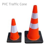 Flexible PVC Traffic Cone with Rubber Base