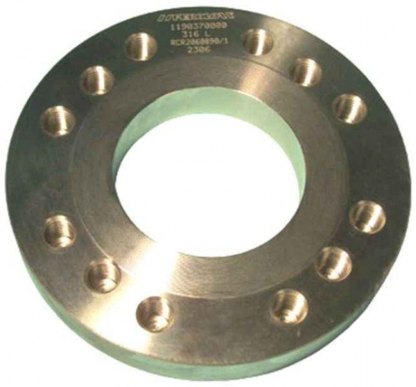 "Quality FLANGES - 3"" Tank Top 316L Weld-in Flanges for sale"