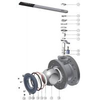 Buy cheap Ball Valves Airline ATCO Flanged DN80 Full Bore from wholesalers