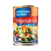 China 400g canned mixed vegetables factory wholesale