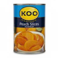 China canned peach slice with high quality wholesale