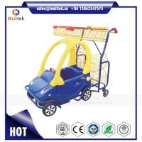 China Kids Supermarket Plastic Shopping Trolley Cart for Retail Grocery Store for Children on sale