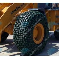 China Tire chains/tire protection chain/tractor tire chains for 29.5-25 on sale