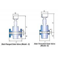 Buy cheap SLAB TYPE GATE VALVE from wholesalers