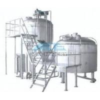 Hotel / Barbecue / Resturant / Ginshop Large Beer Brewery Equipment Automated Brewing System