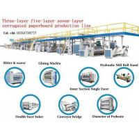 China Three-layer five-layer seven-layer corrugated paperboard production line wholesale