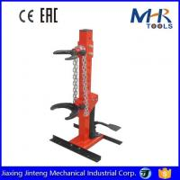 China 1Ton Auto Tool Manual Operated Vertical Hydraulic Strut Coil Spring Compressor wholesale