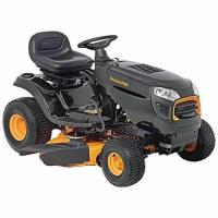 China Poulan Pro 960420181 15.5 hp 6-Speed Lever Riding Tractor Mower, 42 wholesale