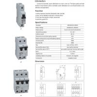 China GBH-D6 MINI CIRCUIT BREAKER WITH OVERLOAD PROTECTION on sale