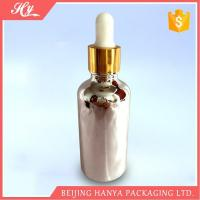 China 100ml Silvery Glass Bottle with Dropper wholesale