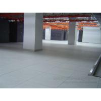 Antistatic ceramic flooring