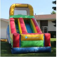 Small size inflatable floating water slide,slide inflatable for sale