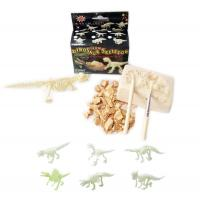 Sml.Glow Dinosaur Skeleton Excavation kit toys,dig it out toys