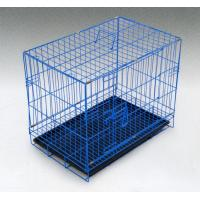 China high quality portable foldable metal wire pet cage dog crate wholesale