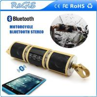 Buy cheap Waterproof Motorcycle Bluetooth Stereo Speakers Music Sound Box Support Audio / Radio / MP3 from wholesalers
