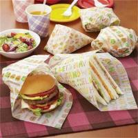 Kraft paper Wrapping paper Burger paper coated paper for food