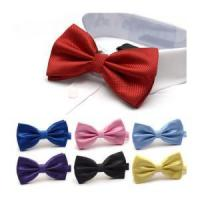 China Wholesale Nice Looking Colorful satin necktie bowtie wholesale