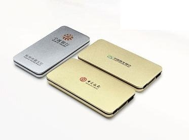 China best power banks for mobiles Metal Edge Mobile Powerbank