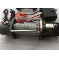 Buy cheap 12v Truck Heavy Duty Electric Winch 8.3mm Steel Wire 9500lbs For Off Road from wholesalers
